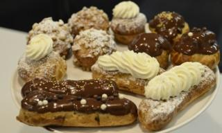 Chocolate Eclairs in Paris