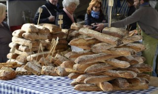 Baguette at Les Halles Food Tour In Paris