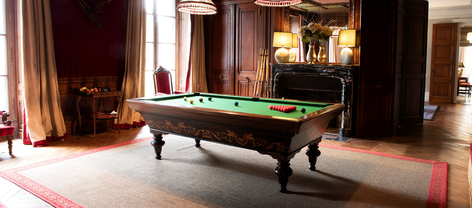 Billard Table at Chateaufort